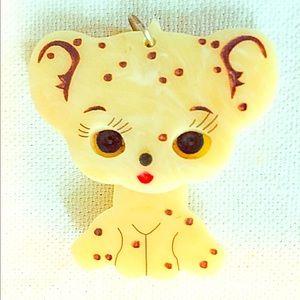 Tatty Devine Knick knack leopard cub pendant